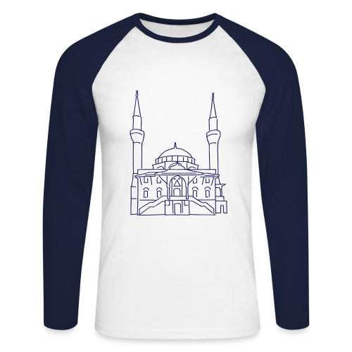 Sehitlik Moschee Berlin - Männer Baseballshirt langarm