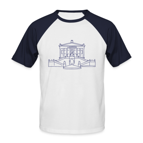Alte Nationalgalerie - Männer Baseball-T-Shirt