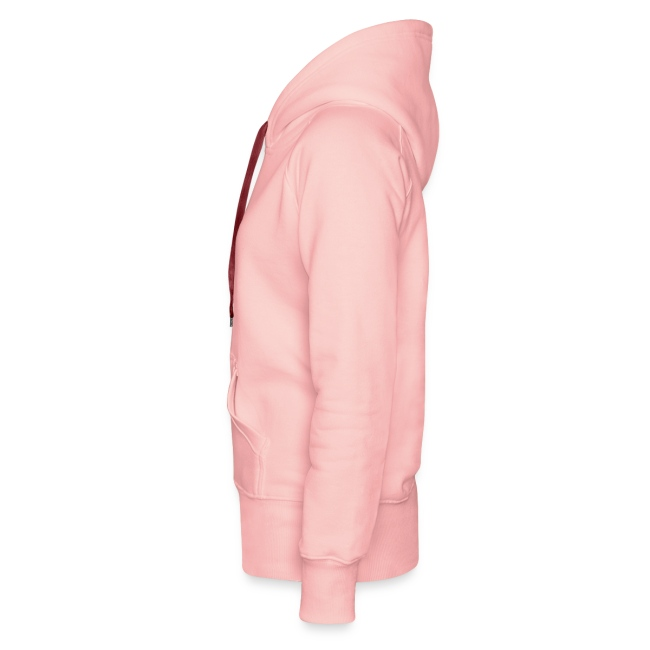 Frauen Premium Kapuzenpullover Ghosthunter :) rosa