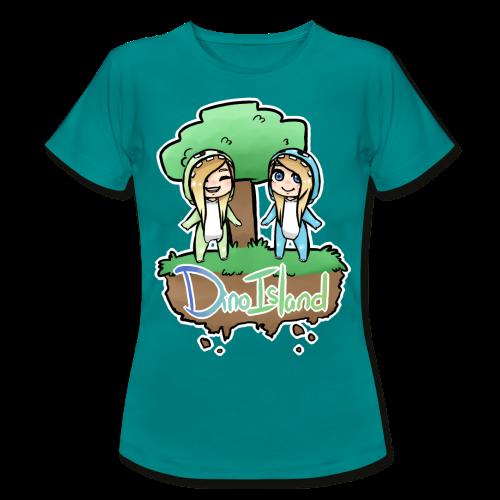Womens Dino Island Shirt - Women's T-Shirt