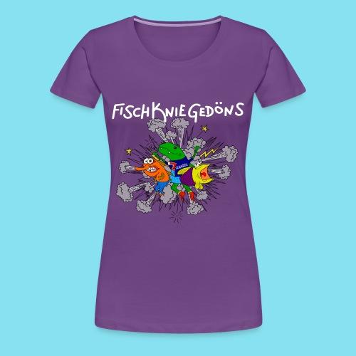 T-Shirt, FischKnieGedöns, Frauen - Frauen Premium T-Shirt