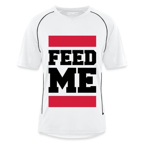 Feed Me Sportshirt - Männer Fußball-Trikot