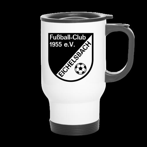 Thermobecher mit FC Eichelsbach Wappen - Thermobecher