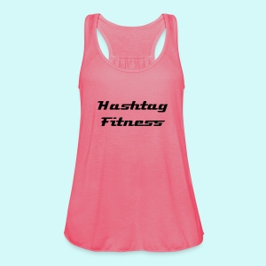 Hashtag Fitness Logo - Women's Tank Top by Bella