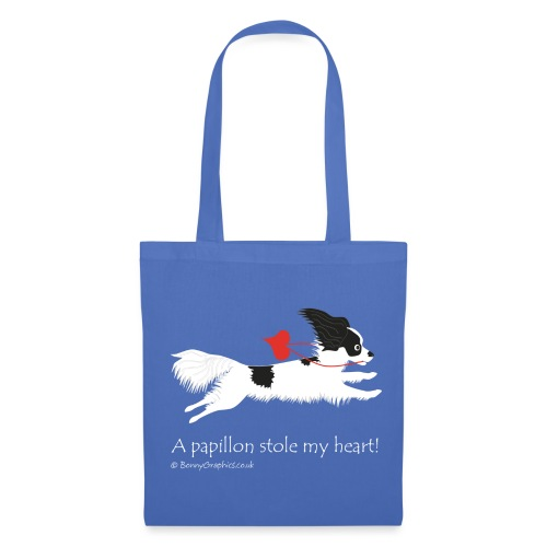A papillon stole my heart! designed by Bonny Graphics - Tote Bag