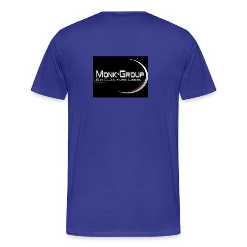 Monk Group T-Shirt Premium mit Monk Group Logo - Männer Premium T-Shirt