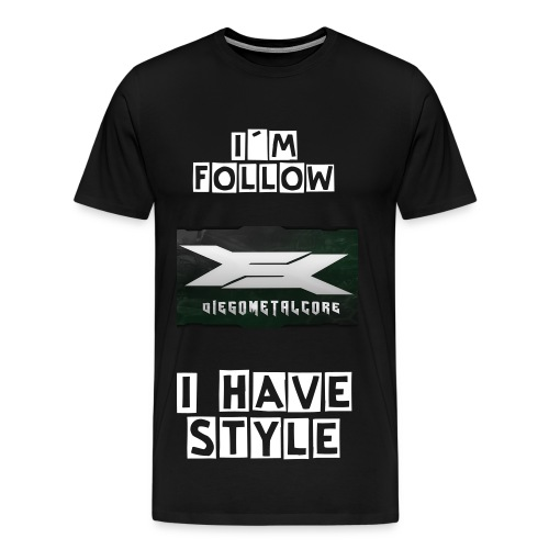 DiegoMetalcore Camiseta Followers Oficial  - Men's Premium T-Shirt