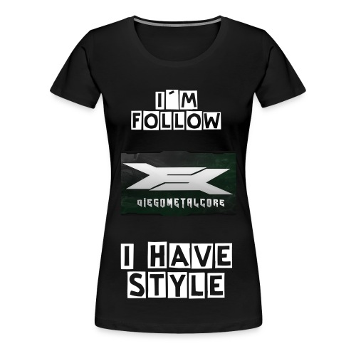 DiegoMetalcore Camiseta Followers Oficial - Women's Premium T-Shirt