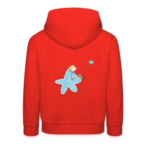 Pull capuche enfant - mes étoiles - Pull à capuche Premium Enfant