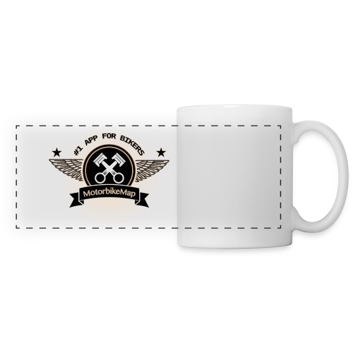 Ultimative Biker Tasse Braun - Panoramatasse