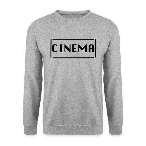 umrandeter Cinema Hoodie - Männer Pullover
