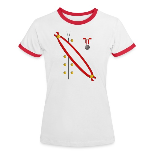 Kaiser_Frau - Frauen Kontrast-T-Shirt
