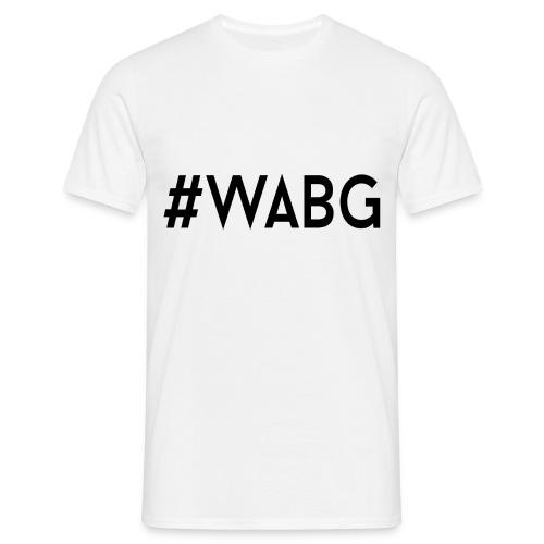 #WABG Crew Neck - #WABG White - Mannen T-shirt