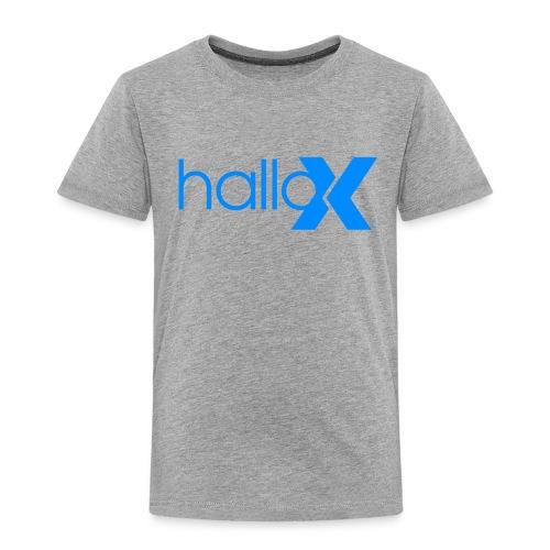 hallo x - Kinder Premium T-Shirt