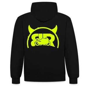Sweat BRProds Diable (Fluo) - Sweat-shirt contraste