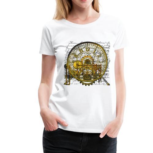 Steampunk Time Machine #2 Women's Premium T-Shirt - Women's Premium T-Shirt