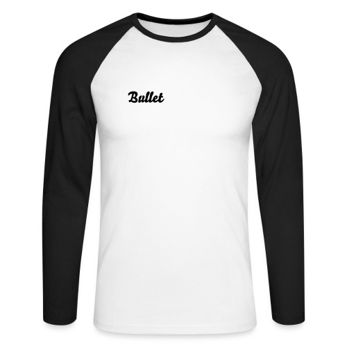Bullet Baseball Shrt - Men's Long Sleeve Baseball T-Shirt