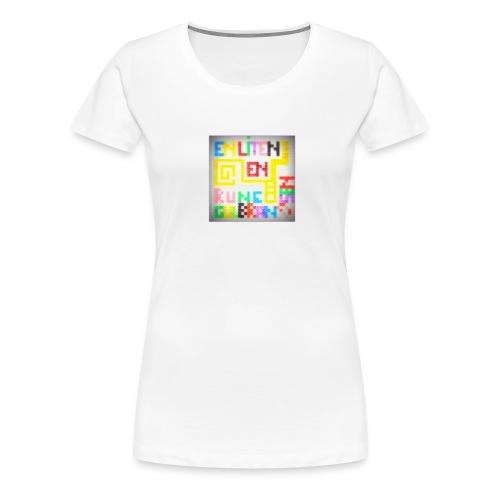 *En liten en* T-Skjorte for Dame - Premium T-skjorte for kvinner