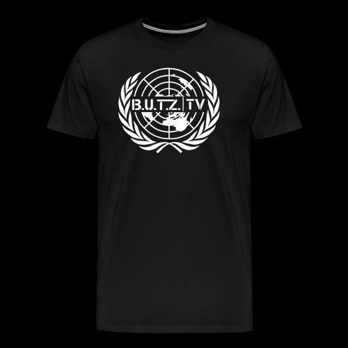 Shirt weiß - Männer Premium T-Shirt