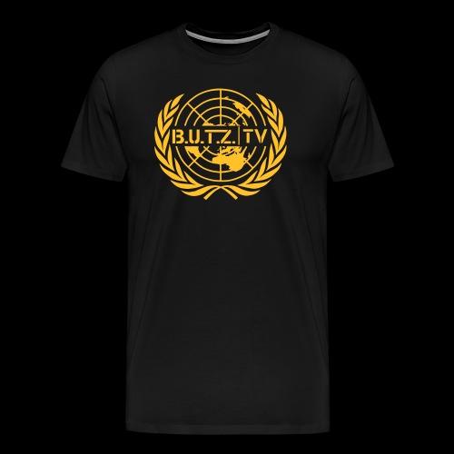 Shirt gold - Männer Premium T-Shirt