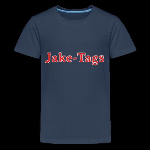JakeTags-Schriftzug PremiumShirt - Teenager Premium T-Shirt