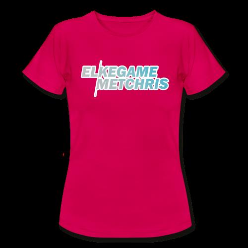 Vrouwen EGMC Shirt (Ruby Red) - Vrouwen T-shirt