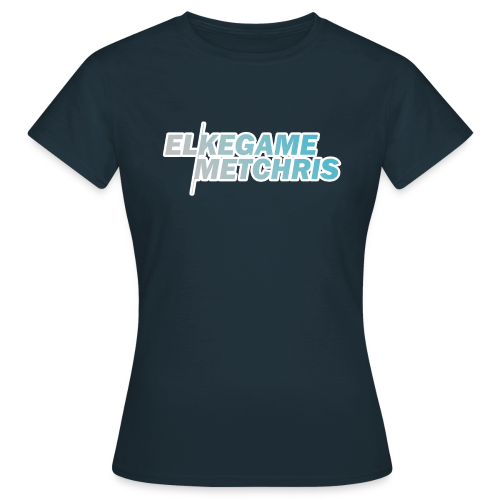 Vrouwen EGMC Shirt (Navy) - Vrouwen T-shirt