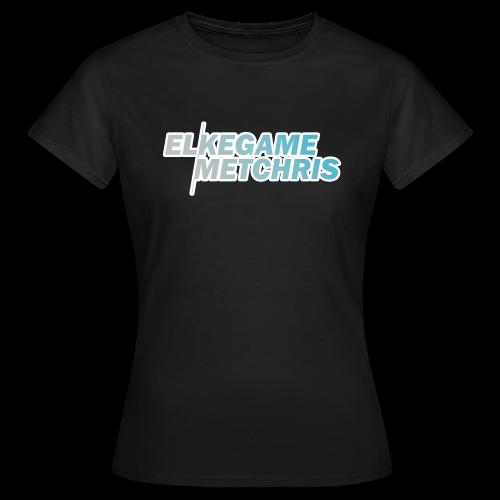 Vrouwen EGMC Shirt (Zwart) - Vrouwen T-shirt