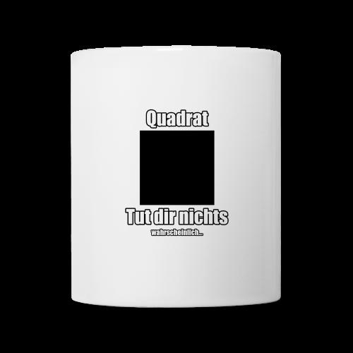 Quadratbob zum trinken - Tasse