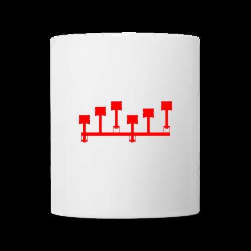 6-Zylinder Tasse - Tasse
