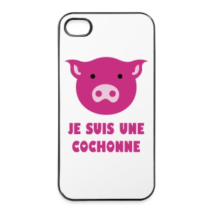 Coque Cochon - Coque rigide iPhone 4/4s