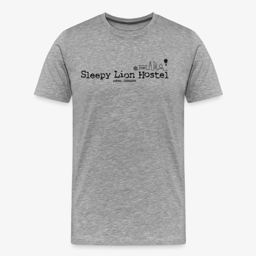 Sleepy Lion Hostel - T-Shirt - Männer Premium T-Shirt