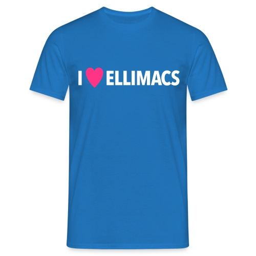 I love Ellimacs - Men's T-Shirt