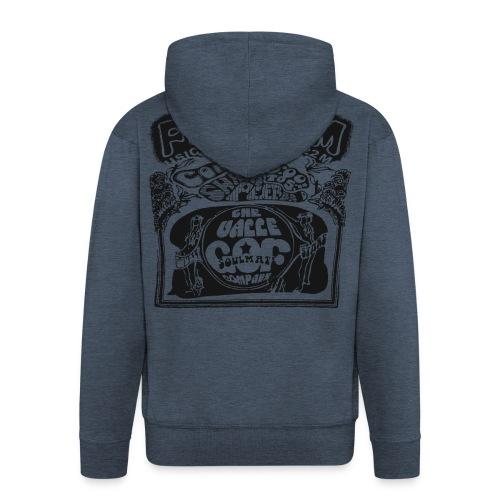 Simon's Hoodie with zipper (Male) - Men's Premium Hooded Jacket