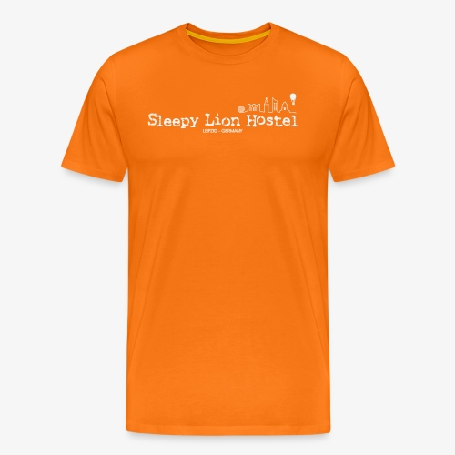 Sleepy Lion Hostel - Shirt men - Männer Premium T-Shirt