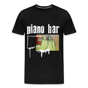 piano bar - Männer Premium T-Shirt