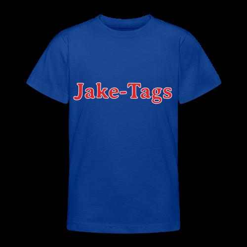 JakeTags-Schriftzug Shirt - Teenager T-Shirt