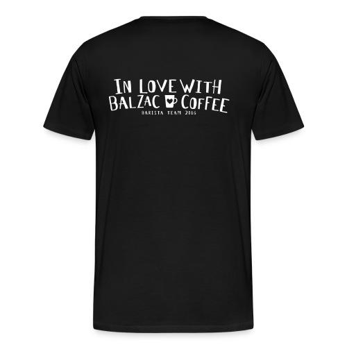 In Love with Balzac Coffee - Männer - Männer Premium T-Shirt