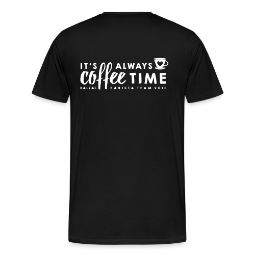 It´s always Coffee Time - Männer - Männer Premium T-Shirt