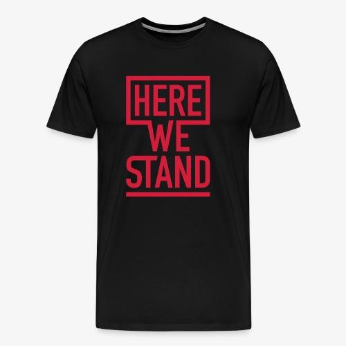Shirt Men schwarz - Männer Premium T-Shirt