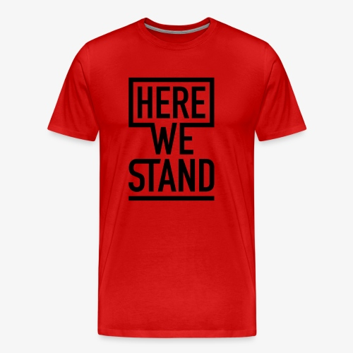 Shirt Men rot - Männer Premium T-Shirt