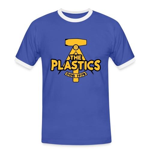 The visitor shirt ist bläu - Miesten kontrastipaita