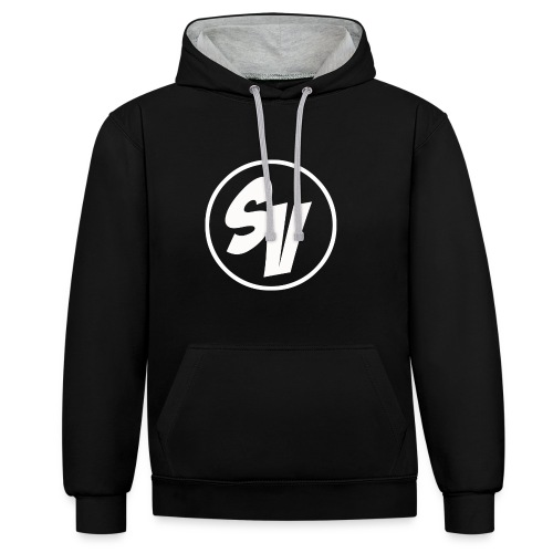 SynonymousVids Trui Mannen - Contrast hoodie