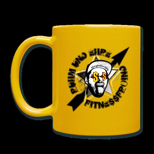 Fitne$$froind Kaffeetasse - Tasse einfarbig