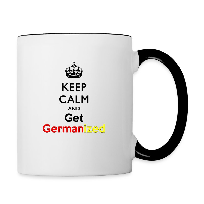 Keep Germanized Mug - Contrasting Mug