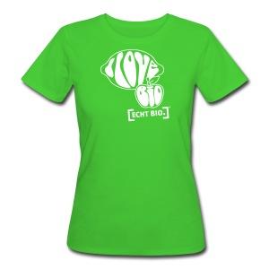 I love ECHT BIO - Frauen Bio-T-Shirt