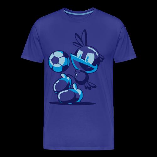 T-Shirt Flop Jongle Homme Bleu - T-shirt Premium Homme