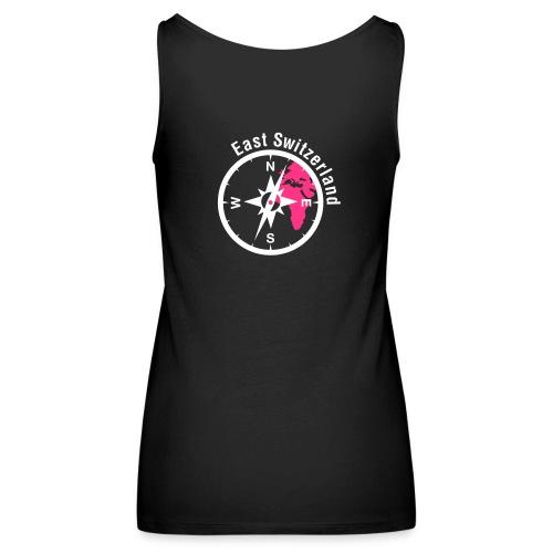 Ladies TankTop Logo 2 Farbig NUR Kompass dafür Flexdruck - Frauen Premium Tank Top