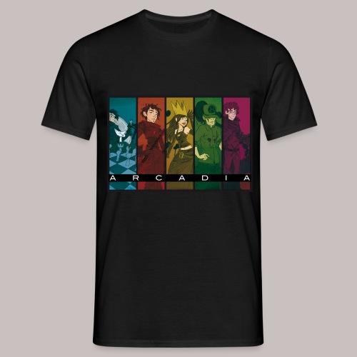 T-Shirt Arcadia Officiel Homme black - T-shirt Homme