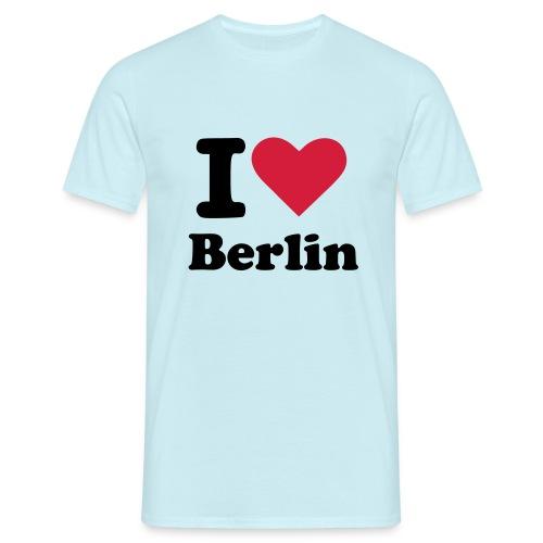 I love Berlin - Männer T-Shirt
